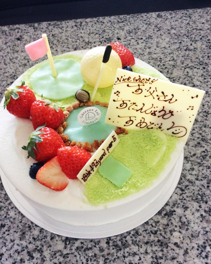 ゴルフケーキのサムネイル