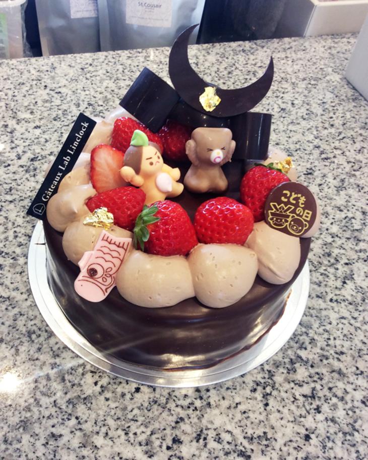 端午の節句ケーキのサムネイル