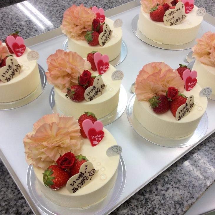 母の日ケーキのサムネイル