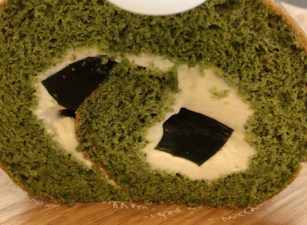 抹茶ロール(春季)