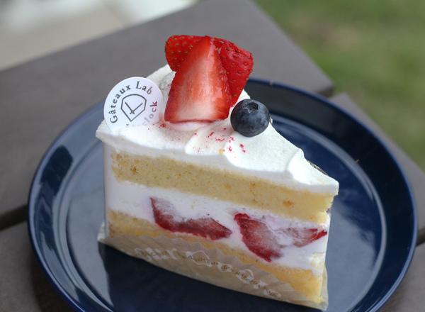 苺のショートケーキ (¥420)